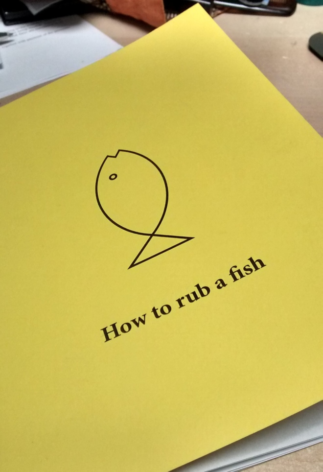 how to rub a fish